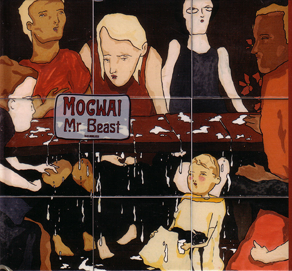 Mogwai - Mr. Beast CD (album) cover