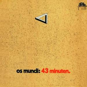 Os Mundi - 43 Minuten CD (album) cover