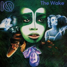 IQ - The Wake CD (album) cover