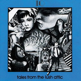IQ - Tales From The Lush Attic CD (album) cover