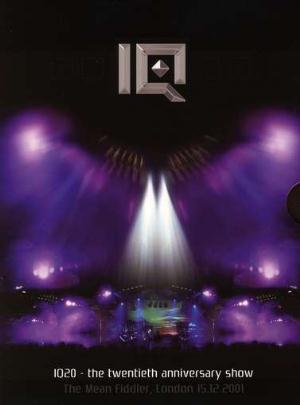 IQ - IQ20 - The Twentieth Anniversary Show CD (album) cover