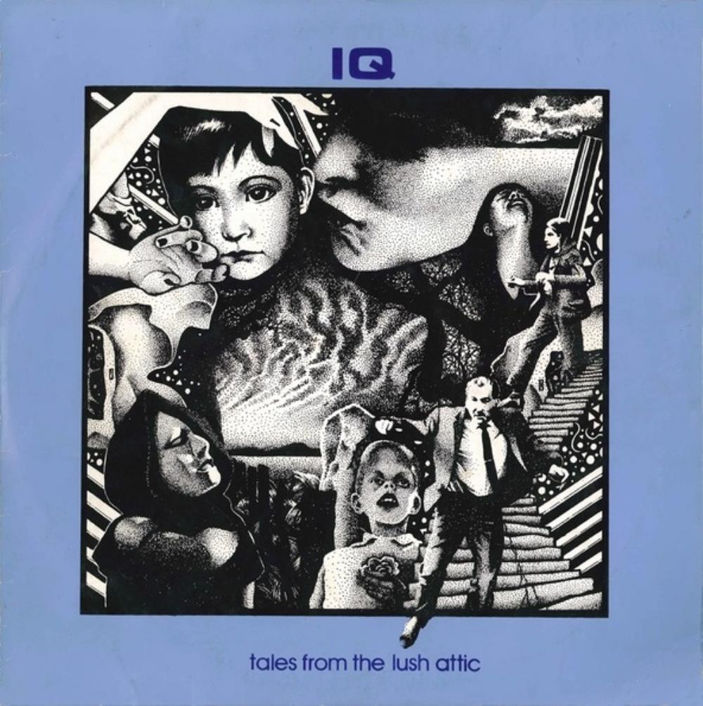 Tales From The Lush Attic by IQ album cover