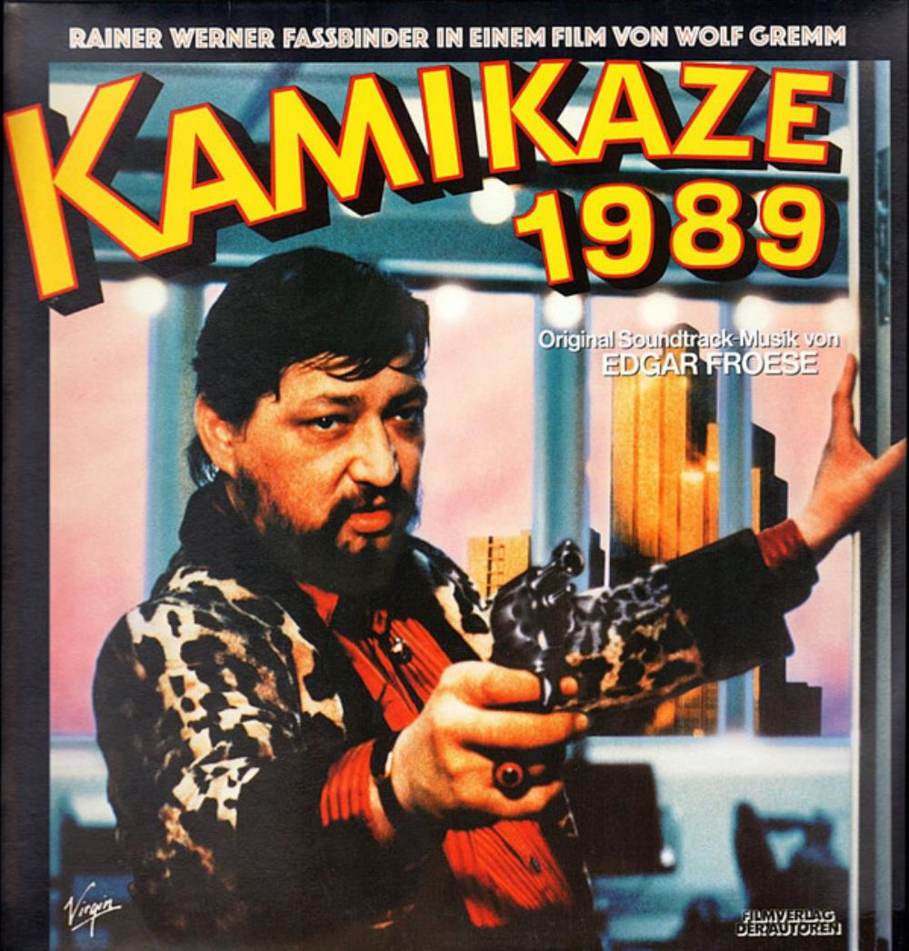 Kamikaze 1989 (OST) by FROESE, EDGAR album cover