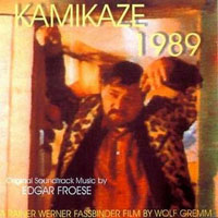 Edgar Froese Kamikaze 1989  album cover