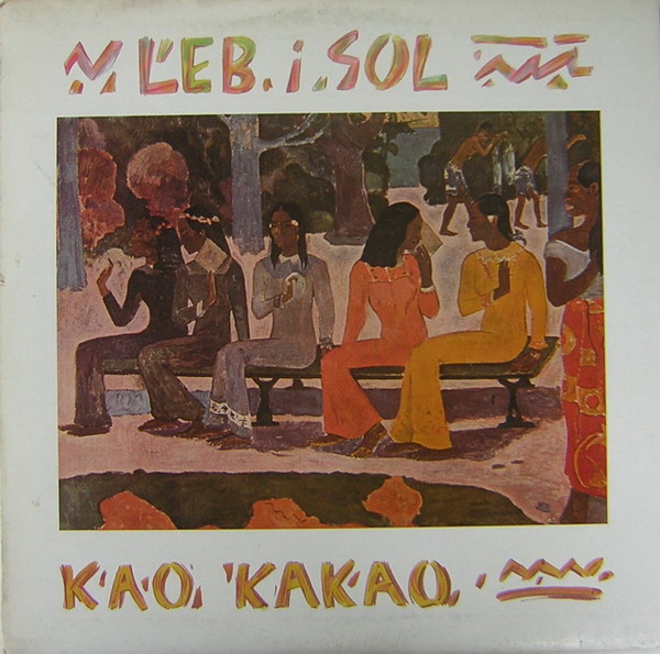 Leb I Sol - Kao Kakao CD (album) cover