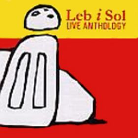 Leb I Sol - Live Anthology CD (album) cover