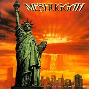 Meshuggah - Contradictions Collapse CD (album) cover