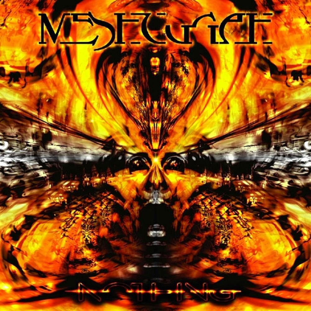 Meshuggah - Nothing CD (album) cover