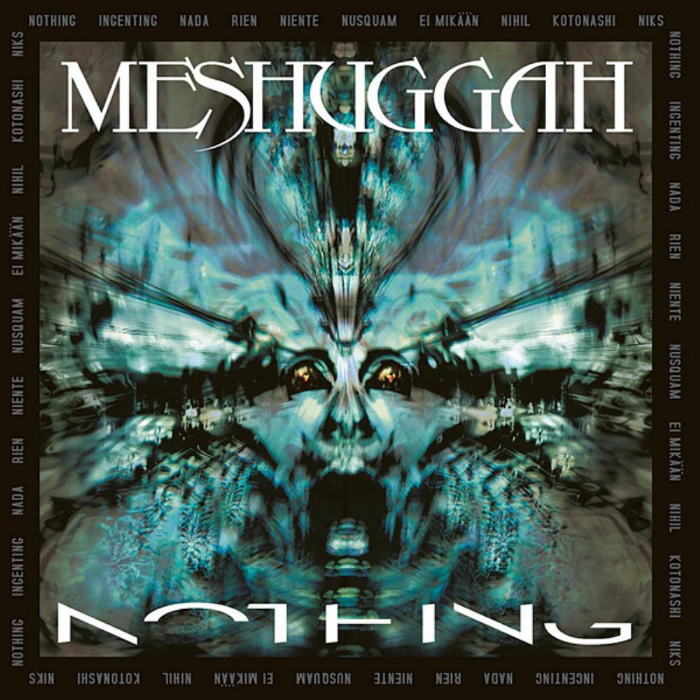 Meshuggah Nothing (2006) album cover
