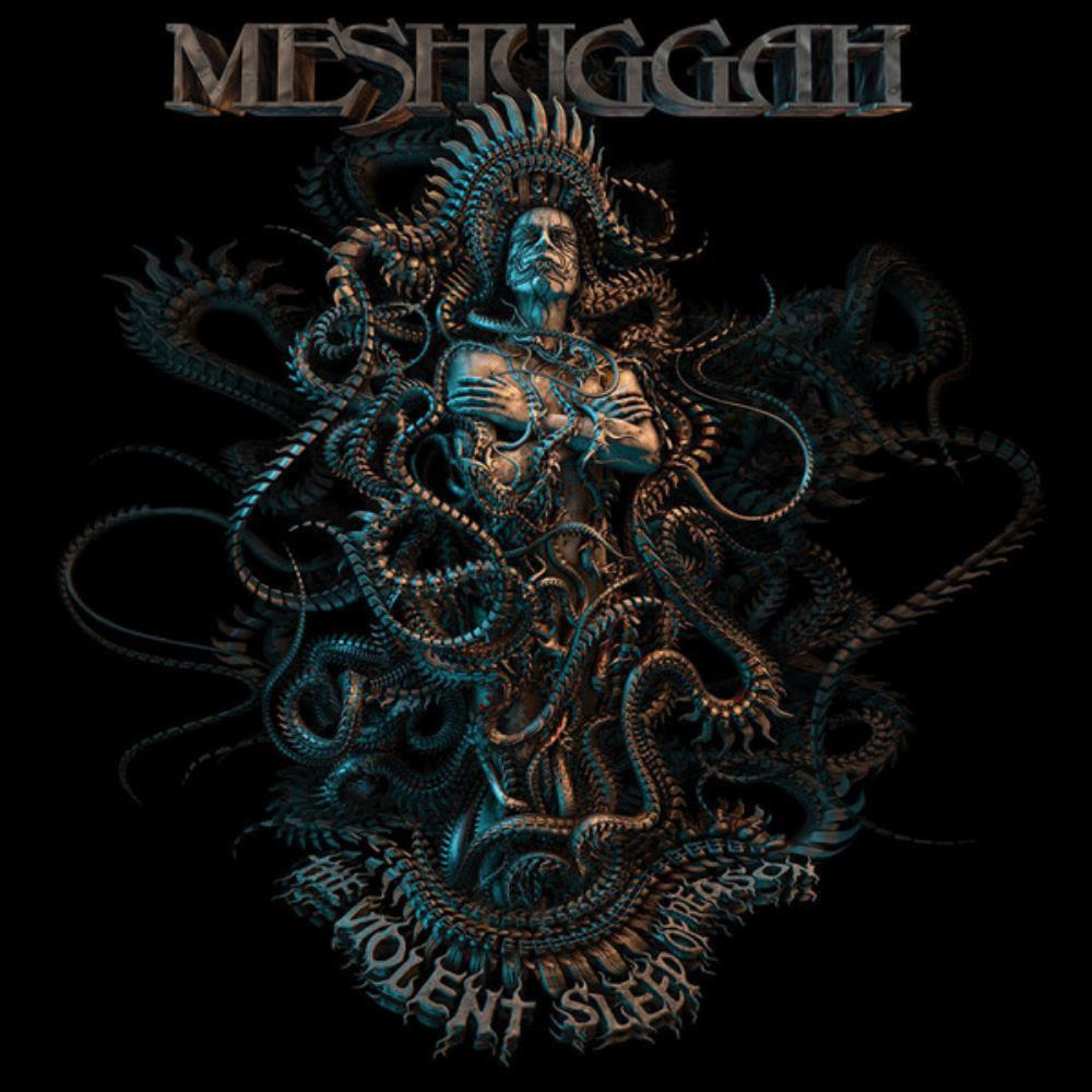 The Violent Sleep Of Reason by MESHUGGAH album cover