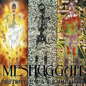 Meshuggah - Destroy Erase Improve CD (album) cover