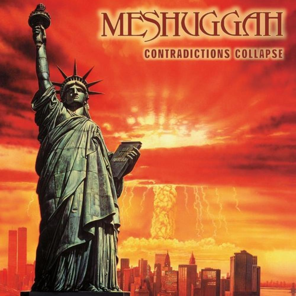 Meshuggah Contradictions Collapse album cover