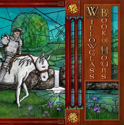 Willowglass - Book Of Hours CD (album) cover