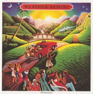 Weather Report - Procession CD (album) cover