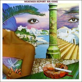 Weather Report - Mr. Gone CD (album) cover