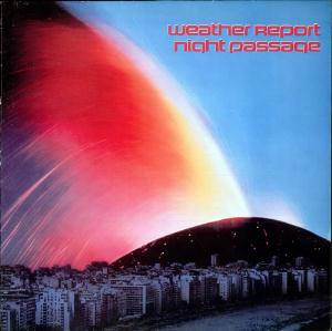 Night Passage by WEATHER REPORT album cover