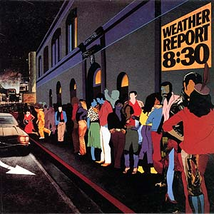 Weather Report - 8:30  CD (album) cover
