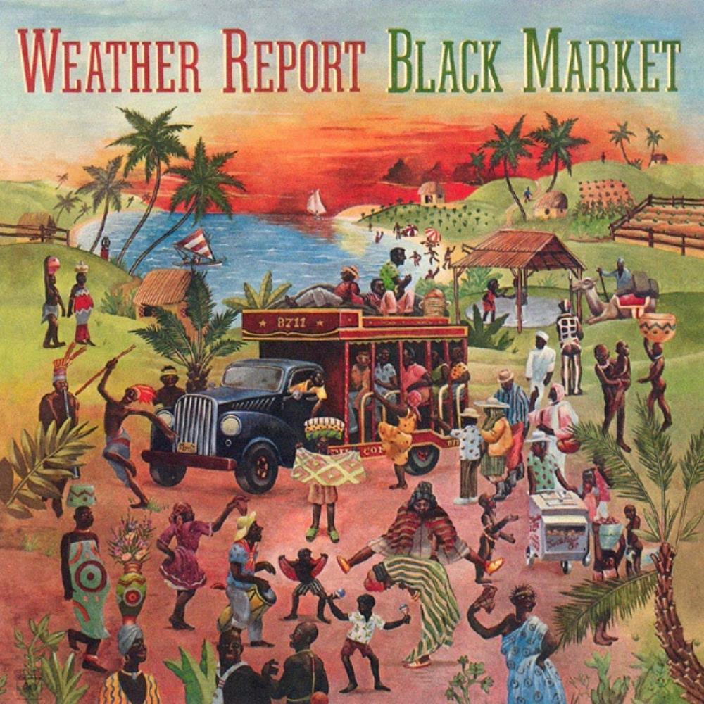 Weather Report - Black Market CD (album) cover