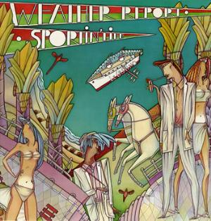 Weather Report - Sportin' Life CD (album) cover