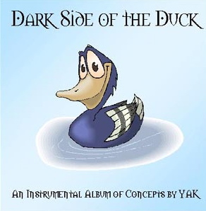 Dark Side Of The Duck by YAK album cover