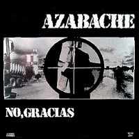 No, Gracias by AZABACHE album cover