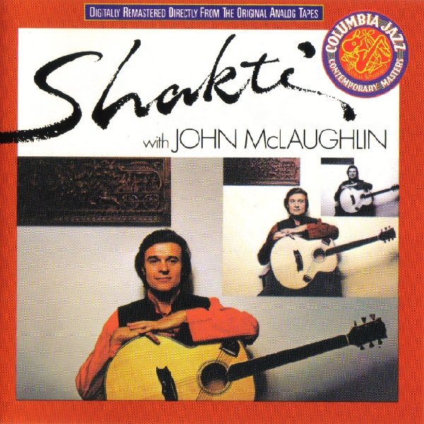 Shakti With John McLaughlin - Shakti with John McLaughlin CD (album) cover