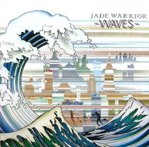 Jade Warrior - Waves CD (album) cover