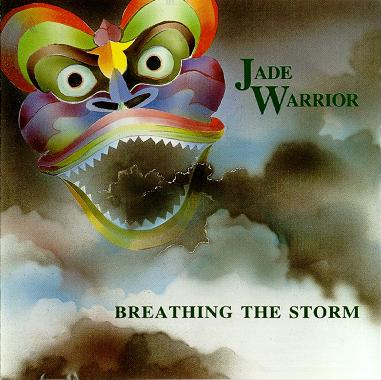 Jade Warrior Breathing the Storm  album cover