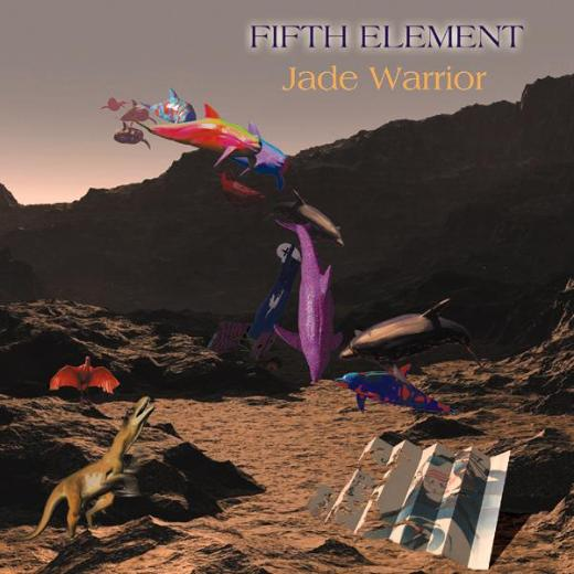 Jade Warrior - Fifth Element CD (album) cover