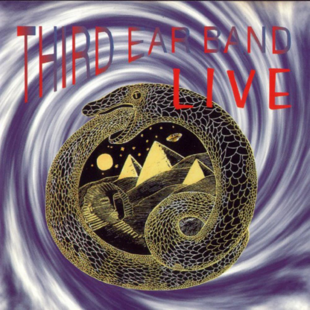 Live by THIRD EAR BAND album cover