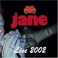 Jane Live 2002 album cover