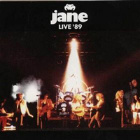 Jane Jane Live '89  album cover