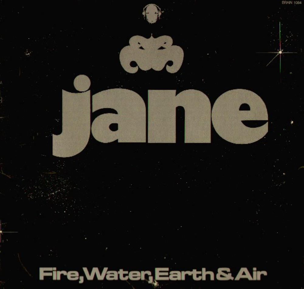 Jane - Fire, Water, Earth & Air CD (album) cover