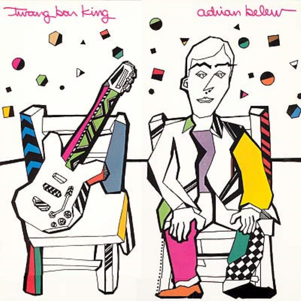 Twang Bar King by BELEW, ADRIAN album cover