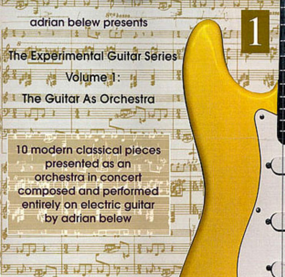 Adrian Belew - Experimental Guitar Series Vol. 1 - The Guitar As Orchestra CD (album) cover