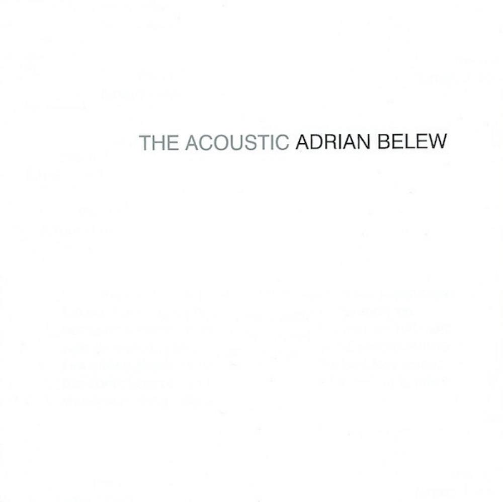 The Acoustic Adrian Belew by BELEW, ADRIAN album cover