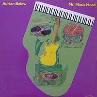 Adrian Belew Mr. Music Head album cover