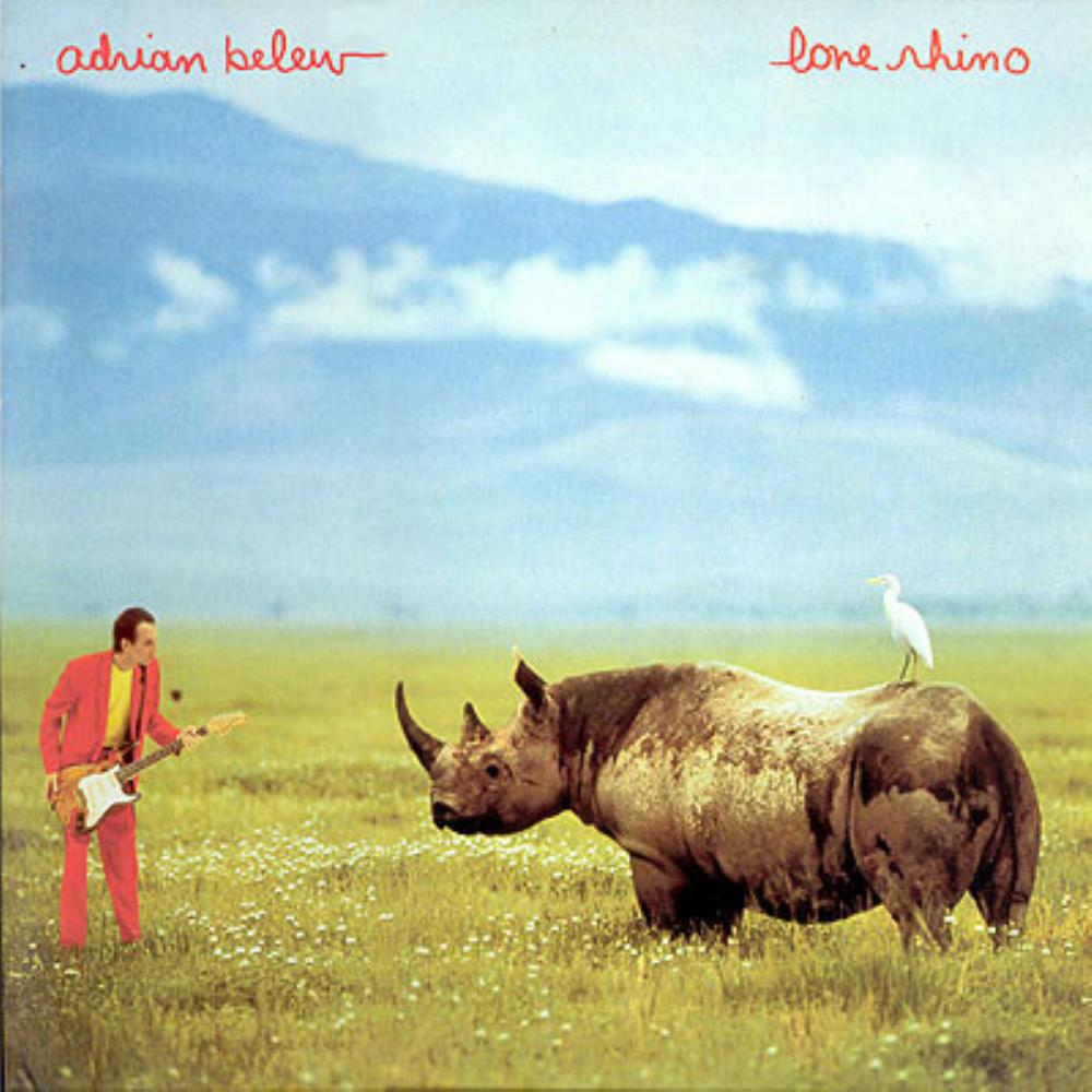 Adrian Belew - Lone Rhino CD (album) cover