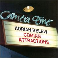 Adrian Belew Coming Attractions album cover