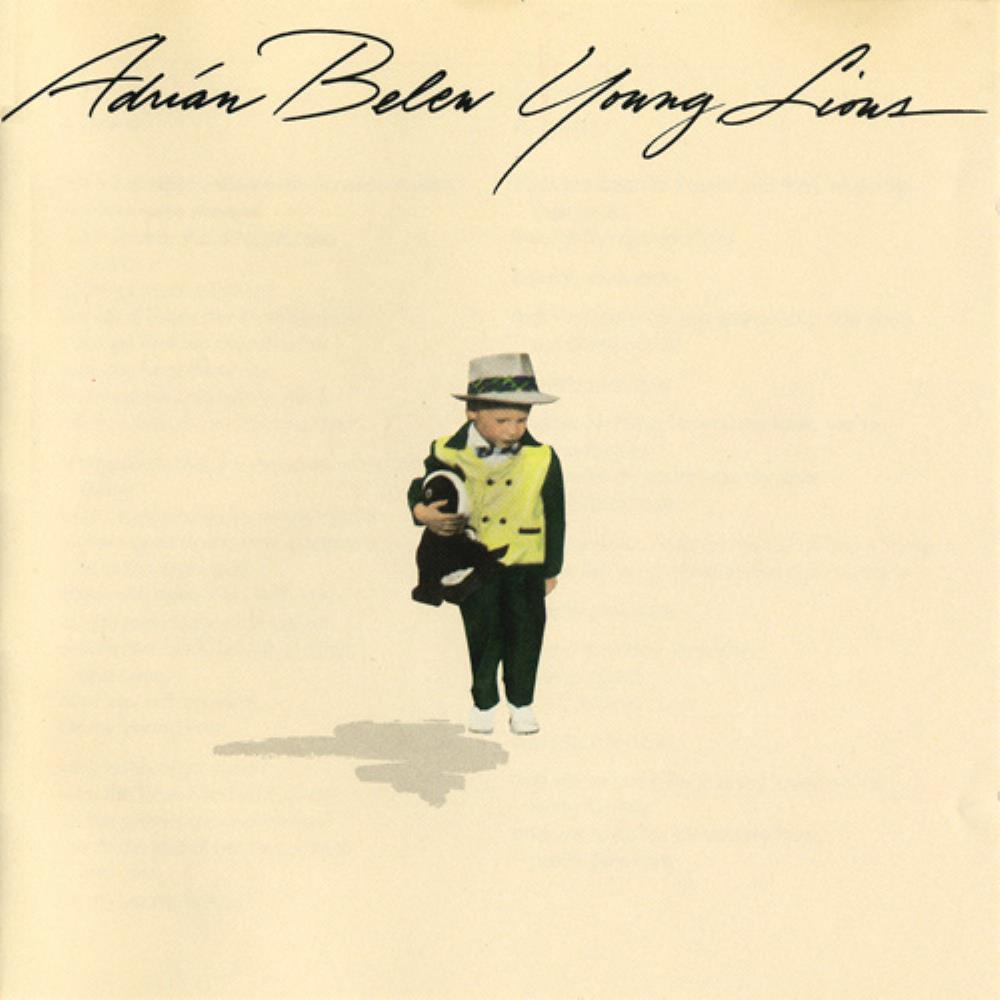 Adrian Belew - Young Lions CD (album) cover