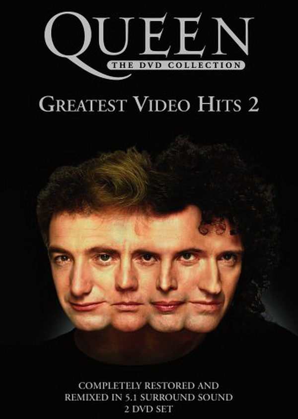 Queen Greatest Video Hits 2 album cover