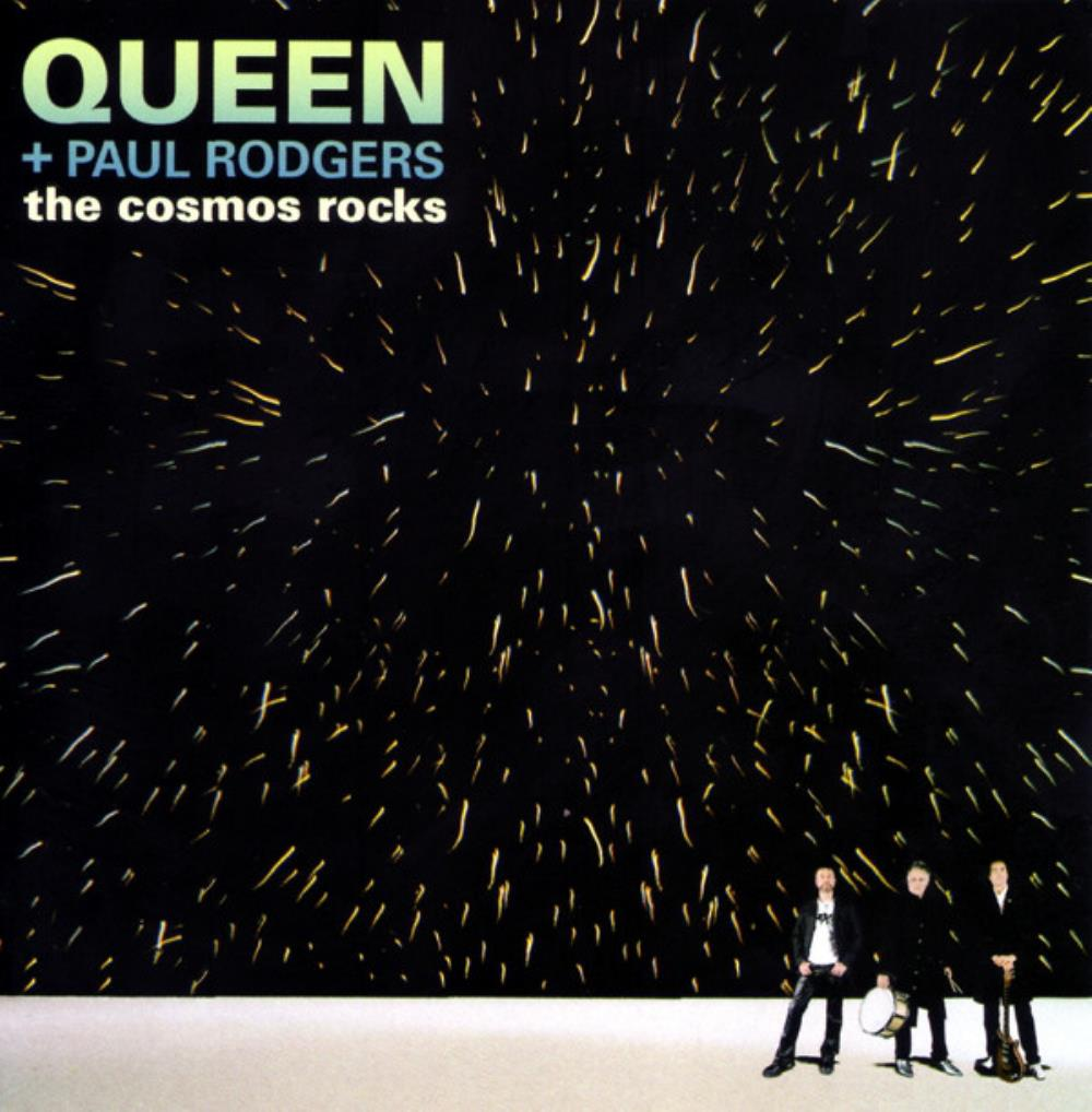 Queen - Queen + Paul Rodgers: The Cosmos Rocks CD (album) cover