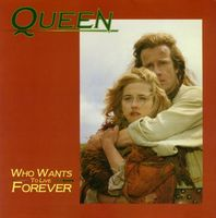Queen Who Wants to Live Forever / Killer Queen album cover