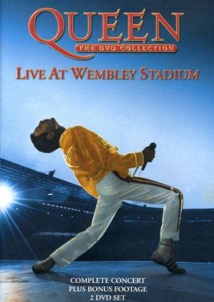 Queen - Live at Wembley Stadium (DVD) CD (album) cover