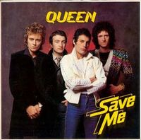 Queen - Save Me / Let Me Entertain You [Live] CD (album) cover