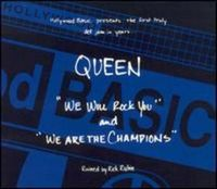 Queen We Will Rock You / We Are the Champions [EP] album cover