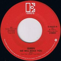 Queen We Will Rock You [Live] / Let Me Entertain You [Live] album cover