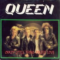 Queen Crazy Little Thing Called Love / We Will Rock You [Live] album cover