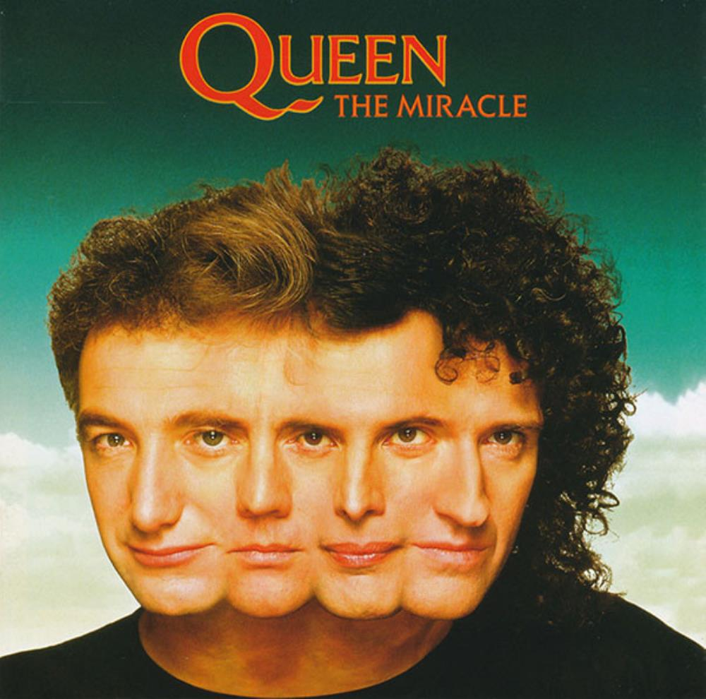 Queen The Miracle album cover