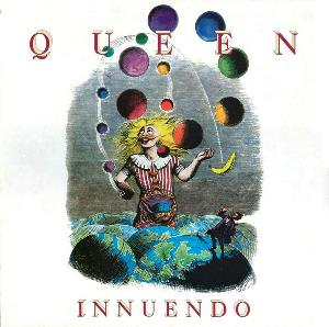 Queen - Innuendo CD (album) cover
